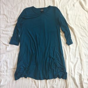 Agnes&Dora tunic/dress M teal blue great condition